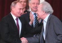 Путин лично поздравил дирижера Темирканова с юбилеем